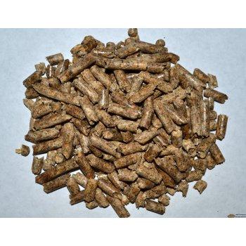 Пеллеты 6мм в мешках по 15 кг - 1тонна на палете
